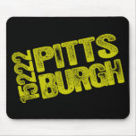 15222 Pittsburgh Mouse Pads