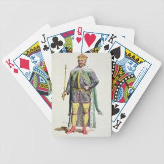 1534-88) reyes de Frederick II (de Dinamarca de 'R Baraja De Cartas