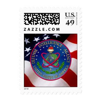 153 Defense Intelligence Agency DIA Seal Postage Stamp