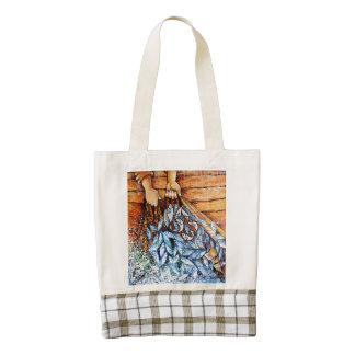 153 Fish Zazzle HEART Tote Bag