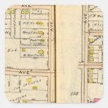 154155 New Rochelle Square Stickers