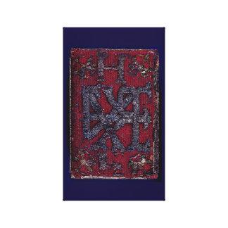 1545 Queen Elizabeth I's Prayer Book Art Canvas