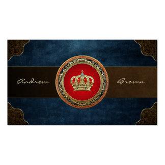 [154] Belgium: Prince-Princess King-Queen Crown Business Card