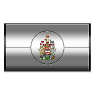 [154] Canada Coat of Arms [3D] Business Card