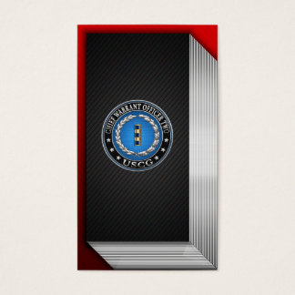 [154] CG: Chief Warrant Officer 2 (CWO2) Business Card