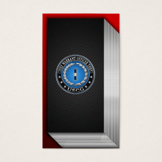 [154] CG: Chief Warrant Officer 3 (CWO3) Business Card