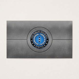 [154] CG: Chief Warrant Officer 4 (CWO4) Business Card