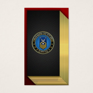 [154] CG: Command Master Chief Petty Officer (CMC) Business Card