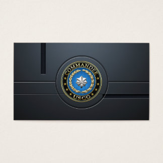 [154] CG: Commander (CDR) Business Card