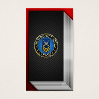 [154] CG: Master Chief Petty Officer (MCPO) Business Card