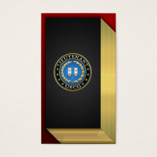[154] Coast Guard: Lieutenant (LT) Business Card