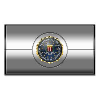 [154] Edición especial del FBI Tarjetas De Visita
