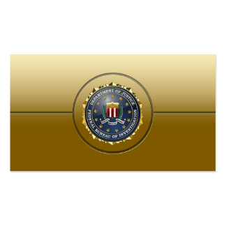 [154] FBI Special Edition Double-Sided Standard Business Cards (Pack Of 100)
