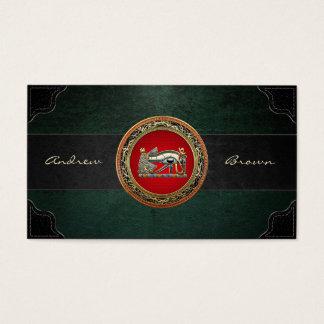 [154] Treasure Trove: The Eye of Horus Business Card