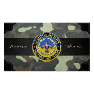 [154] Ukrainian Air Force [Special Edition] Business Card Templates