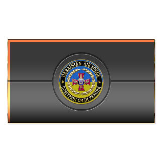 [154] Ukrainian Air Force [Special Edition] Business Cards