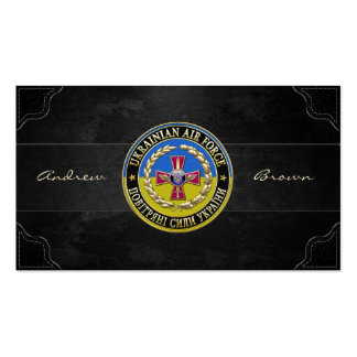 [154] Ukrainian Air Force [Special Edition] Business Card Template
