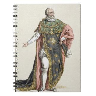 1553-1610) reyes de Enrique IV (de Francia, de 'Re Spiral Notebooks