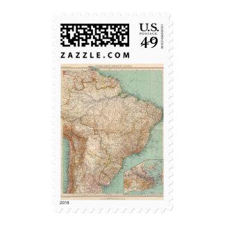 15556 el Brasil, Bolivia, Paraguay, Guayana Sello