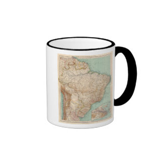 15556 el Brasil, Bolivia, Paraguay, Guayana Taza De Café