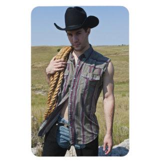 15599-RA Cowboy Magnet