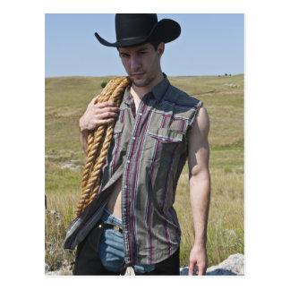 15599-RA Cowboy Post Card