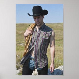 15599-RA Cowboy Poster