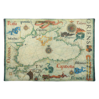 1559 Black Sea Map Placemat