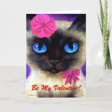 155 CHARMING 11X14, Be My Valentine! Holiday Card