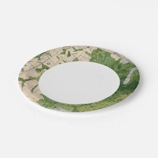 155 Corn/acre 7 Inch Paper Plate