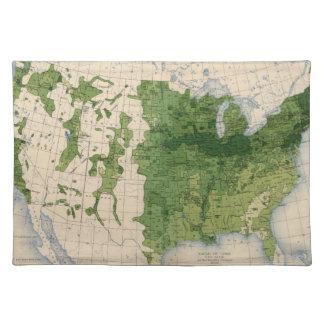 155 Corn/acre Cloth Placemat