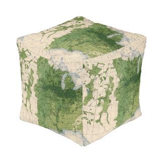 155 Corn/acre Cube Pouf