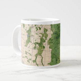 155 Corn/acre Large Coffee Mug