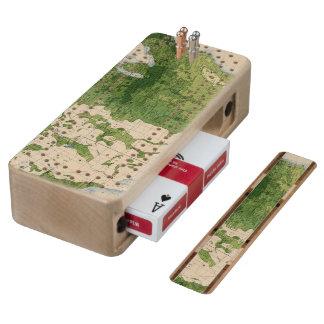 155 Corn/acre Maple Cribbage Board