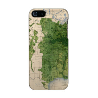 155 Corn/acre Metallic Phone Case For iPhone SE/5/5s