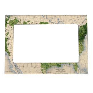 155 Corn/acre Picture Frame Magnets