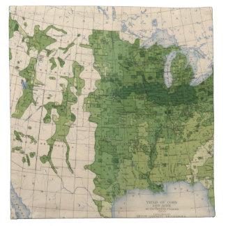 155 Corn/acre Printed Napkins