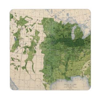 155 Corn/acre Puzzle Coaster