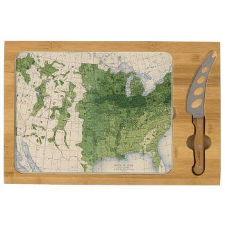 155 Corn/acre Rectangular Cheeseboard