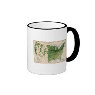 155 Corn/acre Ringer Coffee Mug
