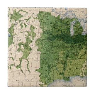 155 Corn/acre Small Square Tile