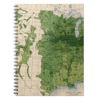 155 Corn/acre Spiral Note Book