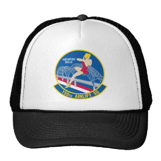 155th Airlift Squadron Mesh Hats
