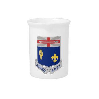 155th Infantry Regiment - Stand Fast Beverage Pitcher