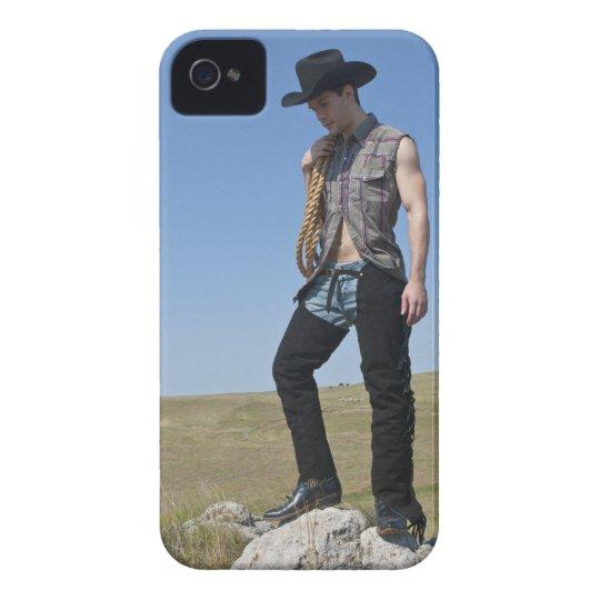 15605-RA Cowboy iPhone 4 Case