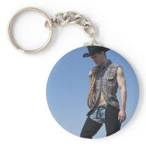 15605-RA Cowboy Keychain