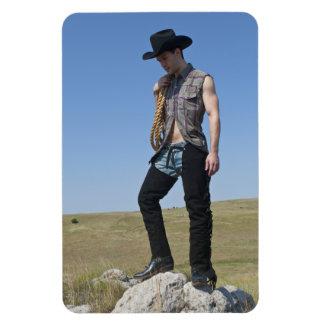 15605-RA Cowboy Magnet