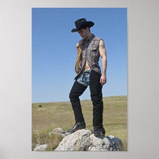 15605-RA Cowboy Poster