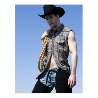 15608-RA Cowboy Postcard