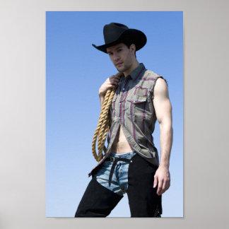 15608-RA Cowboy Poster